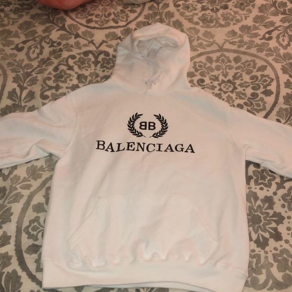 FAKE Balenciaga hoodie